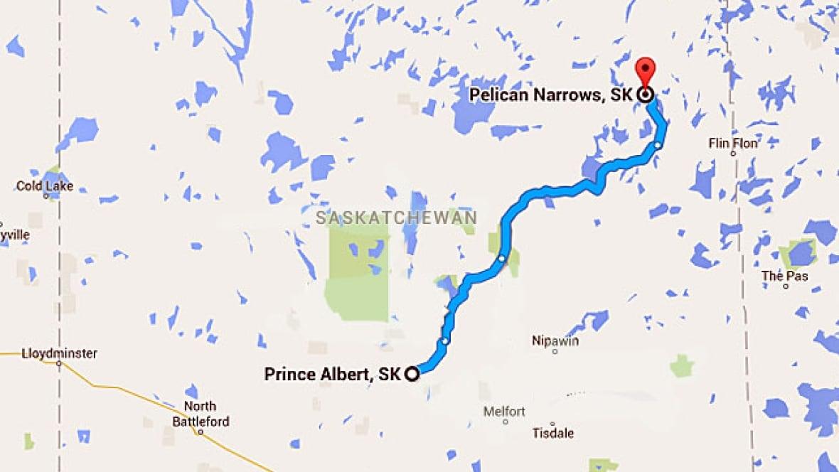 Island Lake Saskatchewan Map