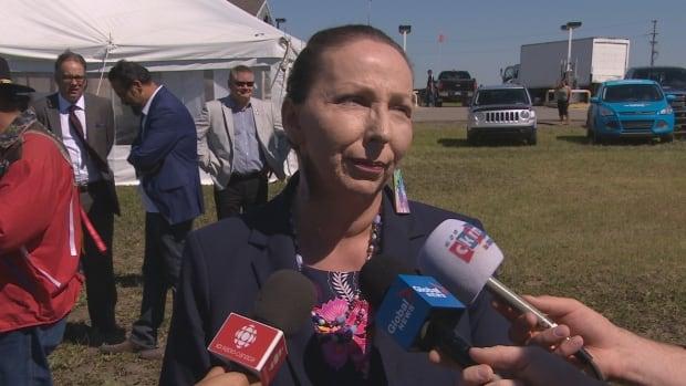 Sakimay First Nations Chief Lynn Acoose