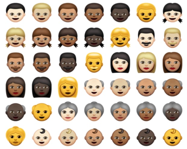 Race emoji