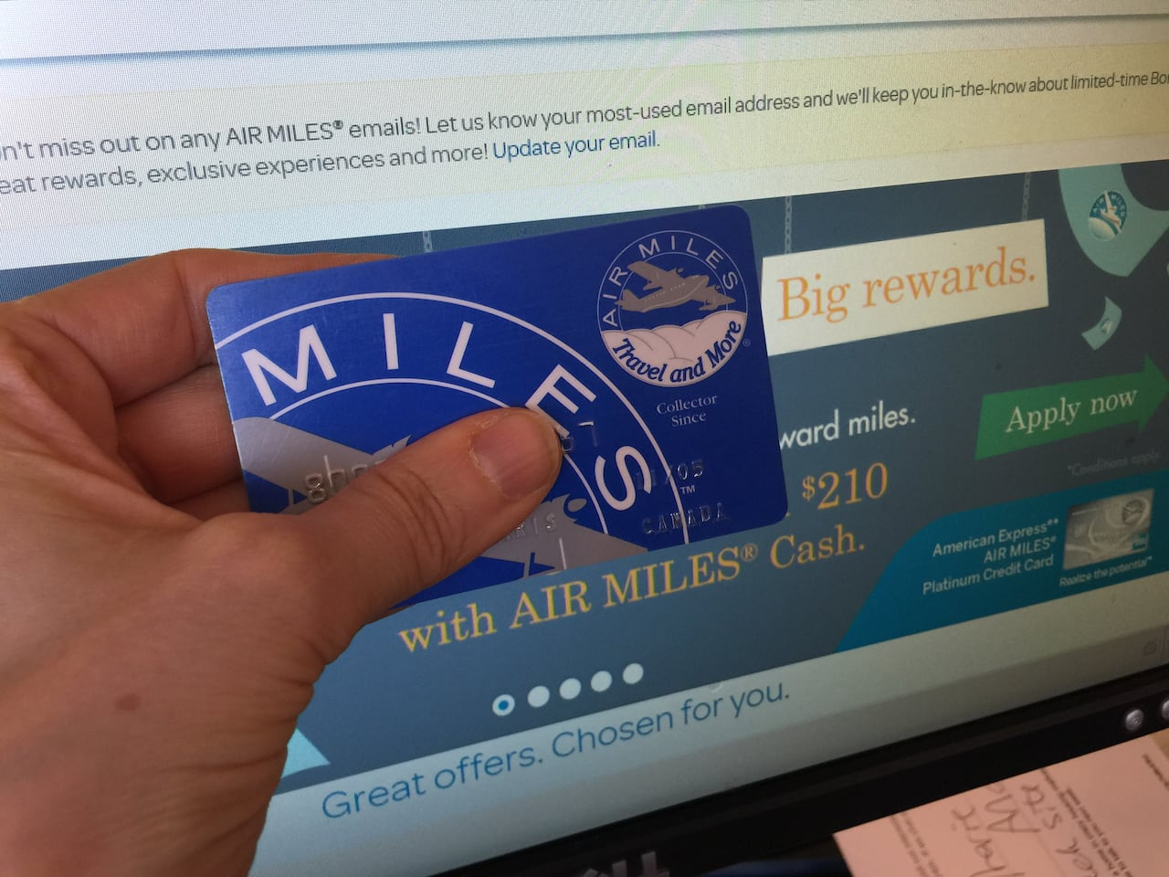 Confusion over Air Miles fine print and Expedia 'glitch