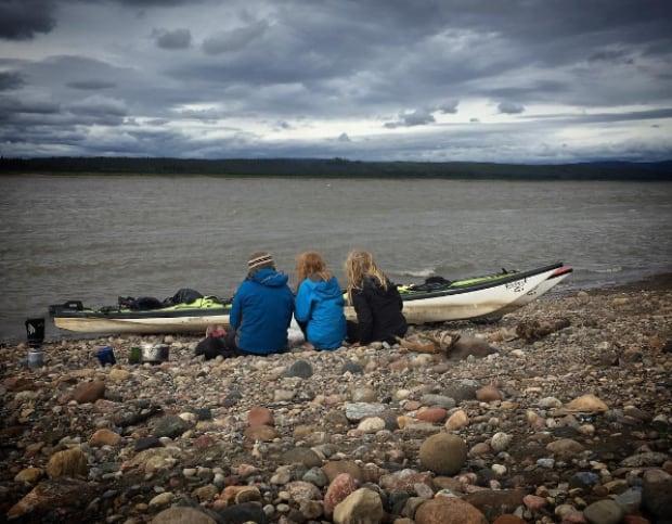 Wrigley paddling Vallely family
