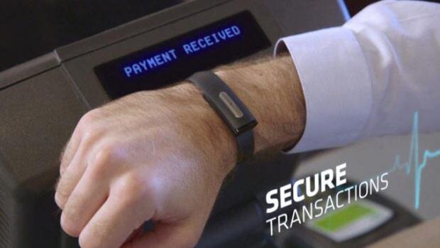 Bionym Nymi biometric wristband