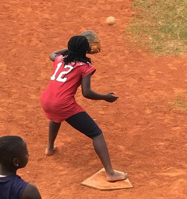 Team Uganda practice