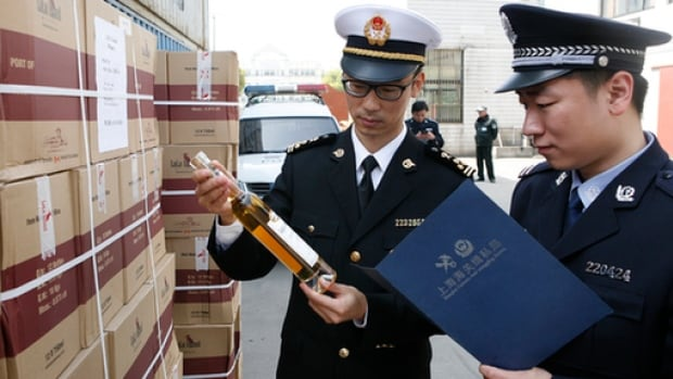"Last year Chinese-government controlled media said the declared value of Lulu Island ice wine imported from Canada was ""far below the actual transaction price""."