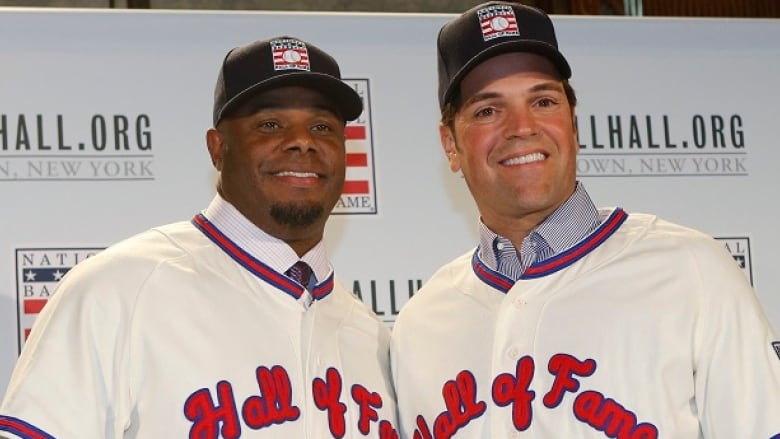 lowest price 8524f fa495 Ken Griffey Jr., Mike Piazza set to enter Hall of Fame | CBC ...