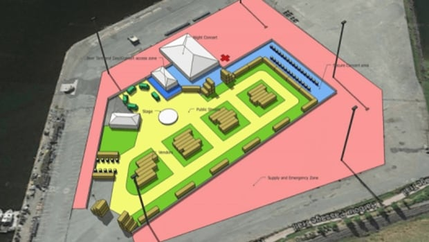 About 70 shipping containers will form a village to host the Area 506 festival at Port Saint John's Long Wharf July 29-31.