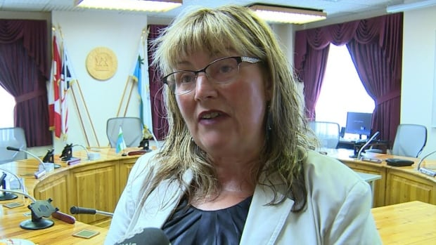 The mayor of Labrador City, Karen Oldford, is excited about how data storage will help diversify the local economy.