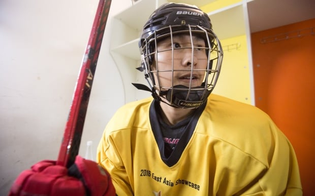 China hockey Michael Wang London Lakers Ontario Canada