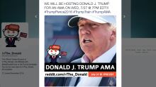 Donald Trump AMA