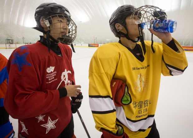 China young hockey players NHL Vancouver
