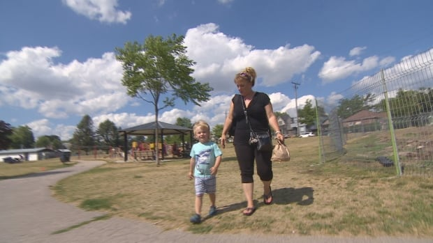 Meagan Ryder's son Greyson was enrolled in Sportball's soccer program for kids before it was forced to relocate after neighbours complained.