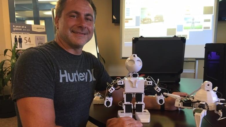 DJ Sures, CEO of EZRobot