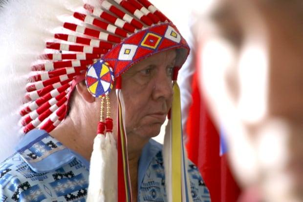 TsuuT'ina Chief Whitney