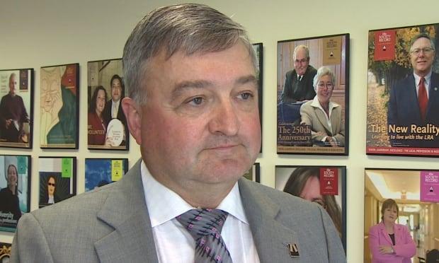 Daren Baxter Nova Scotia Barristers' Society