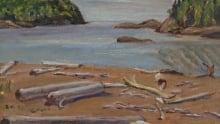 On the beach, Wawa- A.Y. Jackson