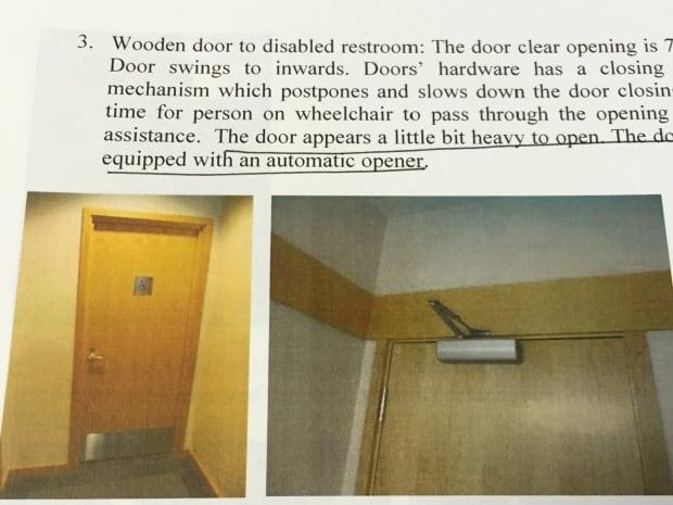 disabled door at legislative assembly