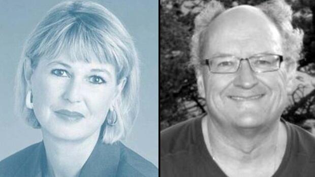 Justice Juliana Topolniski and judge Michael Savaryn