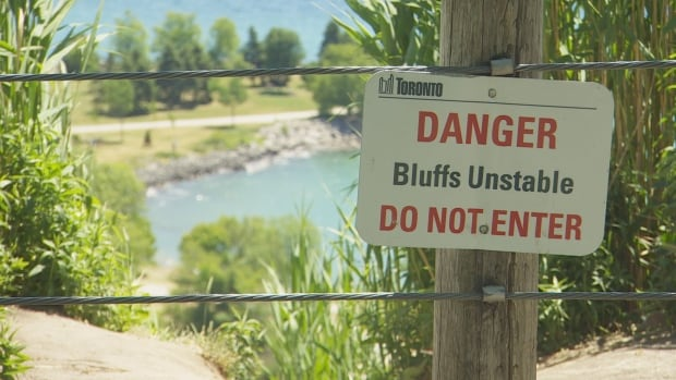 The water's edge will be fenced off and declared off limits to visitors until public safety can be increased, according to the Toronto Region Conservation Authority.