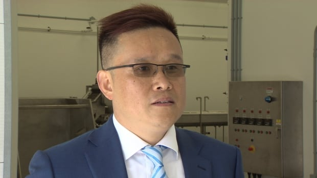 Sam Gao, CEO of Atlantic Sea Cucumber, hopes to employ up to 50 people at the company's newly opened processing plant.