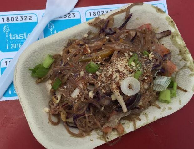 Almond Satay Thai Noodle Salad