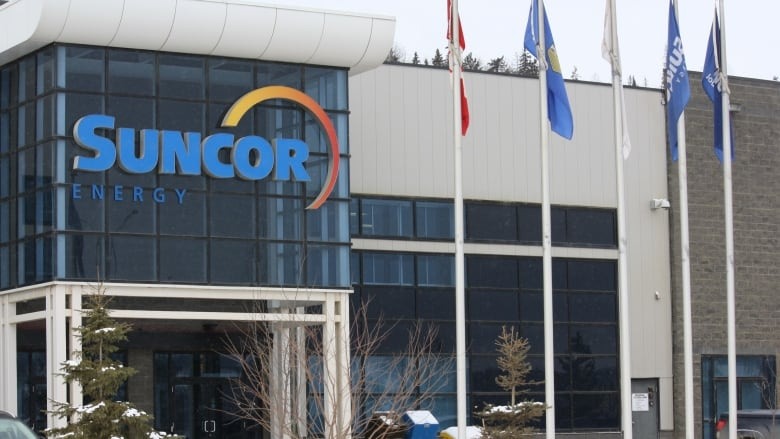 Suncor office in Fort McMurray