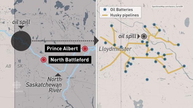 Lloydminster pipelines