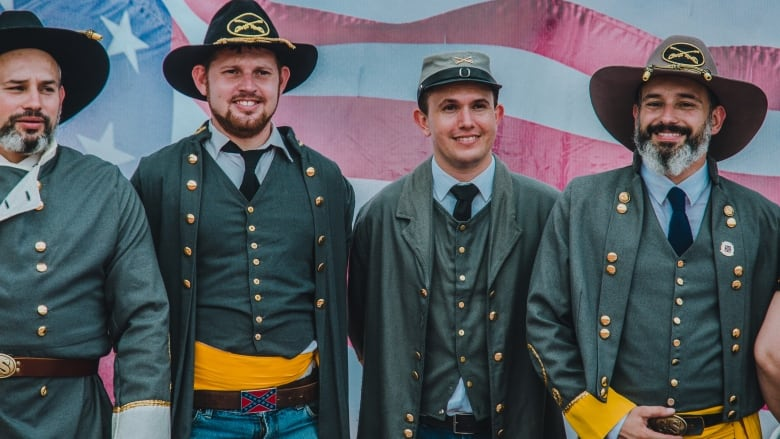 fd620055286e8 Brazilians in Confederate Army uniforms celebrate their Southern U.S.  heritage in the town of Santa Bárbara d Oeste. Joao Leo Padoveze