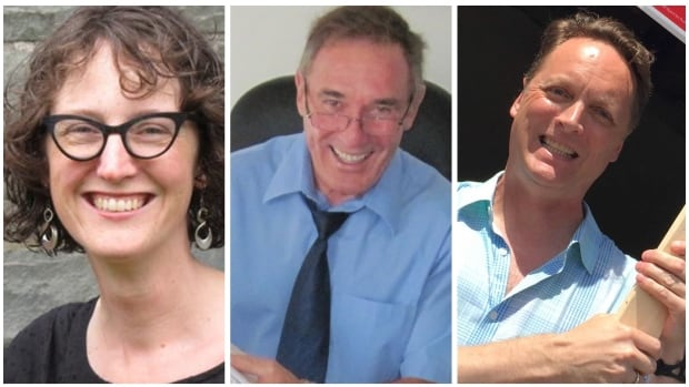NDP candidate Lisa Roberts, Progressive Conservative candidate Andy Arsenault and Liberal candidate Rod Wilson are all vying for the Halifax Needham seat in the August 30 byelection.
