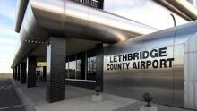 Lethbridge airport
