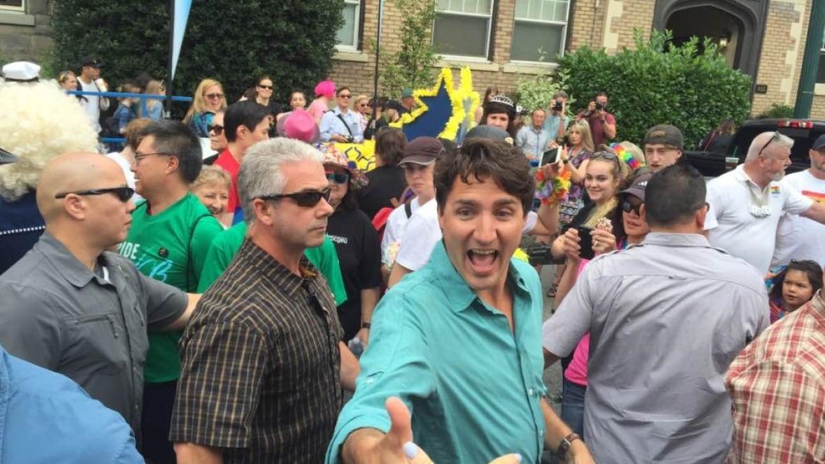 MONTREAL, CANADA - AUGUST, 18 2013 - Gay Pride Parade