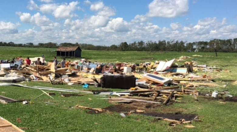 Peachy Tornado Turns Family Home To Rubble Near Melville Sask Home Interior And Landscaping Oversignezvosmurscom