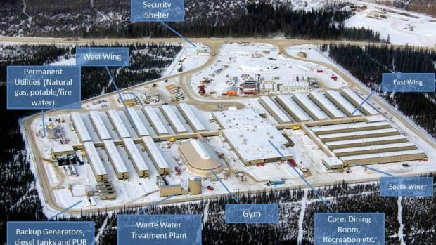 """The camp, about 50 kilometres northeast of Peace River, was built by ATCO and  comes with """"all the bells and whistles."""""""