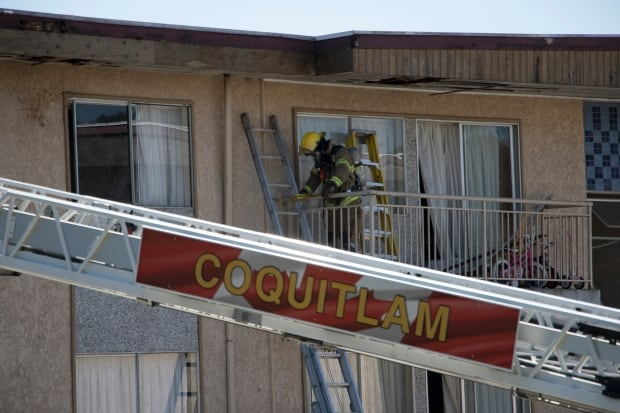 Coquitlam firefighter