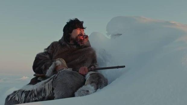 Benjamin Kunuk plays Kuanana in Zacharias Kunuk's latest film, Maliglutit or Searchers.