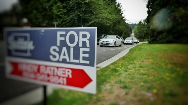For sale sign in Vancouver BC