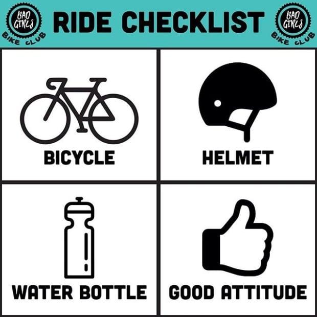 Bad Girls Bike Club Checklist