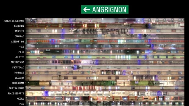 Nicolas Kruchten made Direction Angrignon by filming all 27 Angrignon-bound platforms using his iPhone from the rear-end of the metro.
