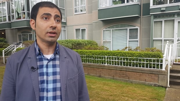 Hamed Ahmadi is worried over having to pay thousands because of the foreign home buyers tax. He's not sure what steps to take.