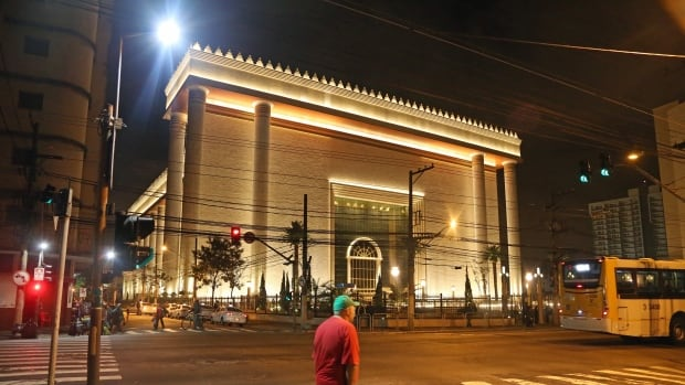 The $275-million Temple of Solomon, constructed in 2014 in Sao Paulo, is the headquarters for the massively influential Universal Church of the Kingdom of God, a vanguard of the 'prosperity theology' movement that believes material rewards are bestowed to the most faithful.