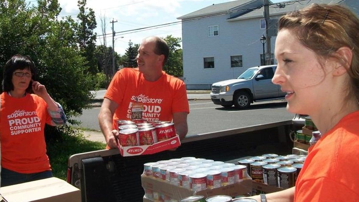Hamilton Food Bank Donations