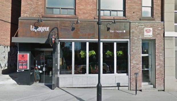 tapageur restaurant sherbrooke quebec