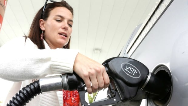 Gas prices are up by almost nine per cent in the past year, Statistics Canada says.