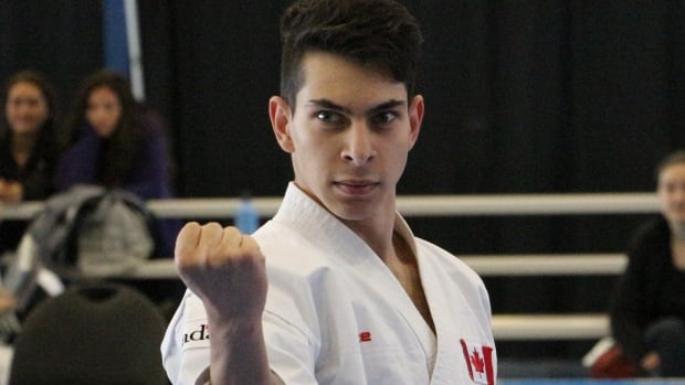 Khyber Barnett, 17, is ranked No. 1 in Canada and eight in the world in his junior division. He was thrilled to learn that karate will be included as a sport in the 2020 Olympics in Tokyo.