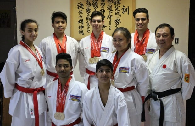 karate athletes at Kimeru, Shotokan Karate