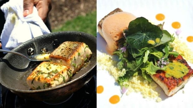 These pan-cooked filets of Kuterra salmon, which were sustainably land-raised by the 'Namgis First Nation of Alert Bay, B.C., are part of the menu at the Calgary Zoo.