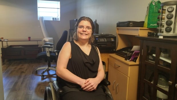 Kaitlyn Layden says since the contract came into effect in January 2015 between the province and the Red Cross, her wheelchair has not been fixed properly or on time.