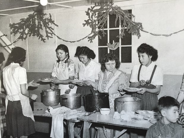 Girls at Whitehorse Baptist Mission School