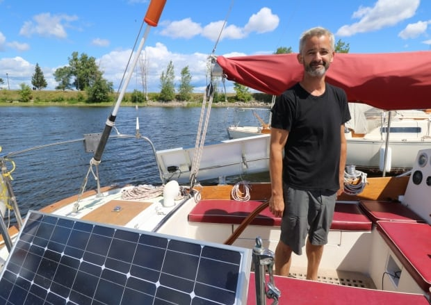 chris fournier sail boat around world little sark ottawa
