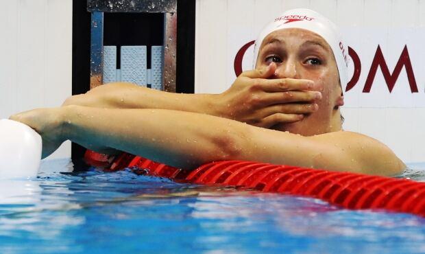 Penny Oleksiak wins 100m butterfly