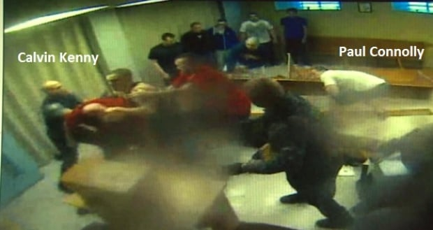 HMP chapel riot with Paul Connolly and Calvin Kenny